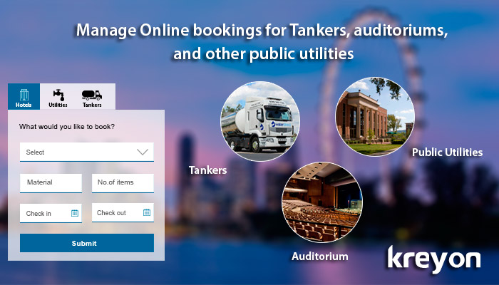 Smart City Digitization & Online booking