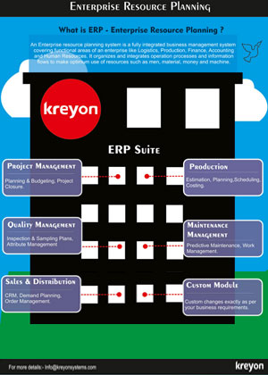 Enterprise Resource Planning Infographics Infographics